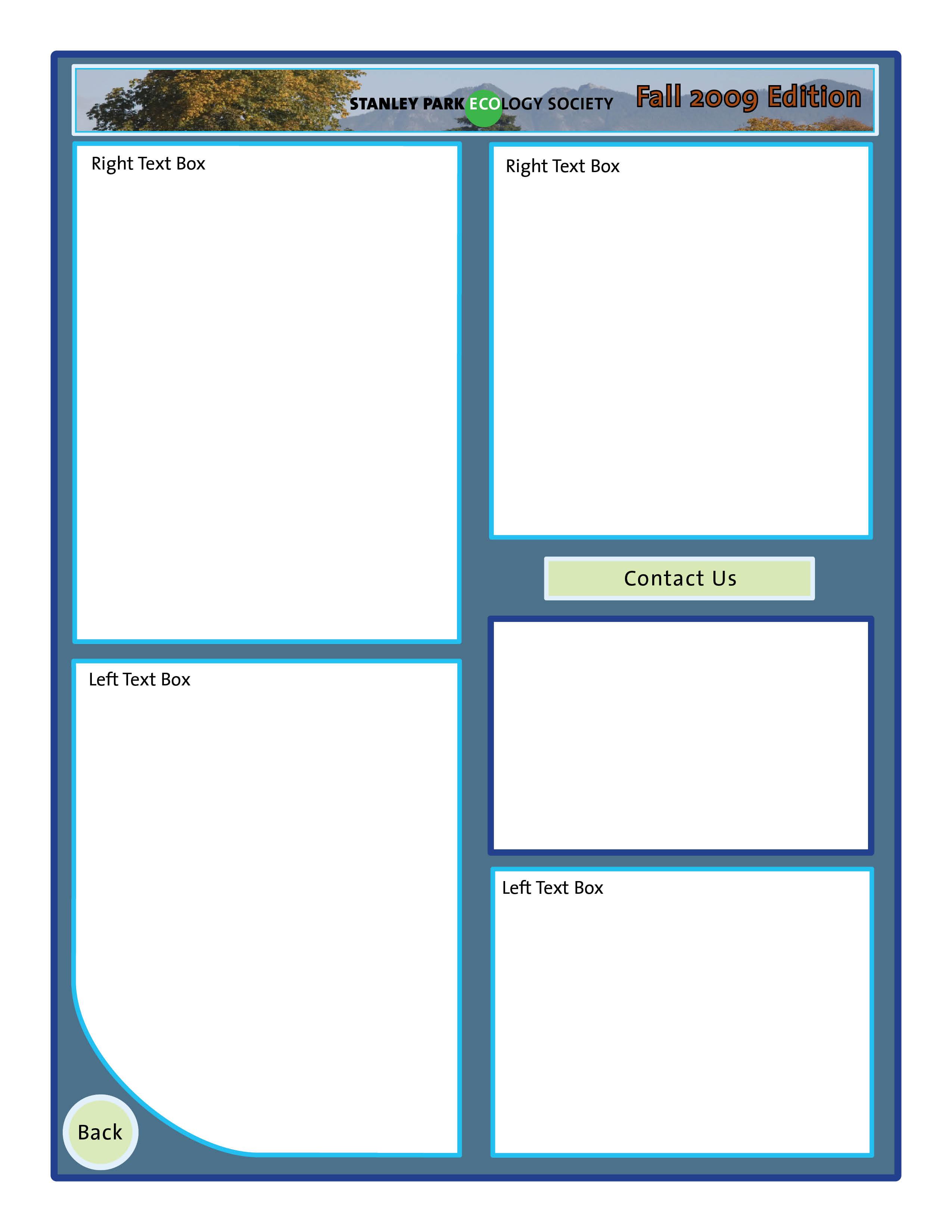 letter template design
